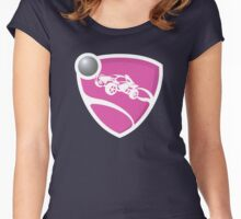 Rocket League - Pink Women's Fitted Scoop T-Shirt