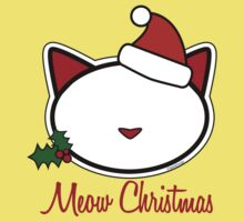 Meow Christmas ! One Piece - Short Sleeve