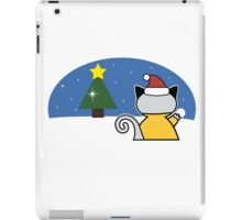 FreddieMeow Snow iPad Case/Skin