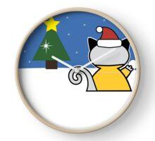 FreddieMeow Snow Clock