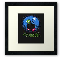 Let The Invasion Begin !  Framed Print
