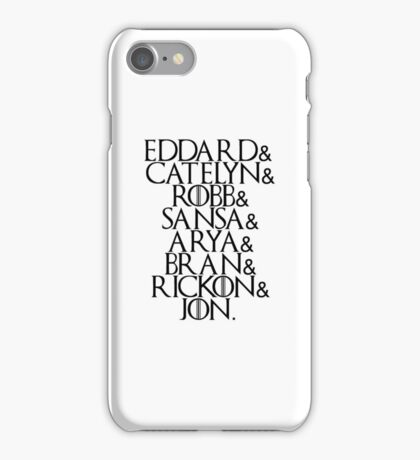 House Stark | Game Of Thrones iPhone Case/Skin