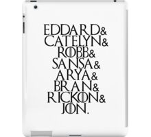 House Stark | Game Of Thrones iPad Case/Skin