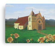 California Mission Canvas Print