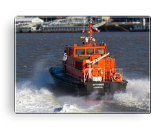 Liverpool Pilot Boat on the Mersey Canvas Print