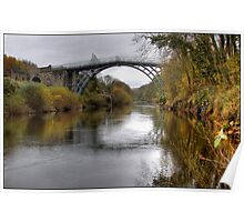 The bridge at Ironbridge Poster