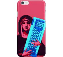 Keyboard Mary iPhone Case/Skin