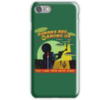 Humans Are Among Us! ver.green iPhone Case/Skin