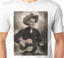 Roy Rogers, Country and Western Singer and Actor Unisex T-Shirt