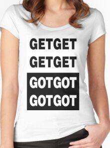 Death Grips - Get Got Women's Fitted Scoop T-Shirt