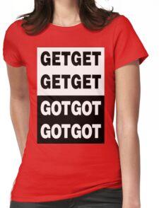 Death Grips - Get Got Womens Fitted T-Shirt