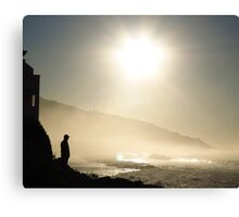 Sunrise At The Beach Canvas Print