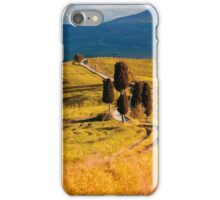 Golden fields of Toscany iPhone Case/Skin