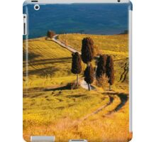 Golden fields of Toscany iPad Case/Skin