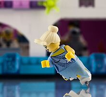 Ice skater - LEGO Minifigure by Peter Kappel