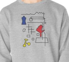 The School - Inspired by Mondrian  Pullover