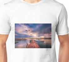 The jetty in the evening Unisex T-Shirt
