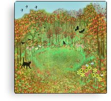 The Enchanted Garden Canvas Print