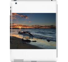 South Queensferry beach iPad Case/Skin
