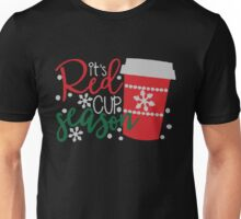 It's red cup season Funny Unisex T-Shirt