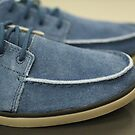 blue suede shoes for men close to by mrivserg