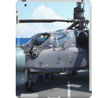 Attack helicopter Ka-52 Alligator iPad Case/Skin