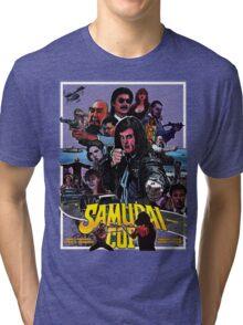 Samurai Cop Tri-blend T-Shirt