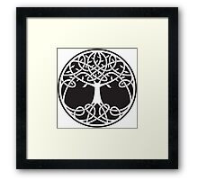 Celtic Tree of Life Framed Print