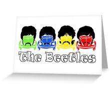 The Beatles/Beetles Greeting Card