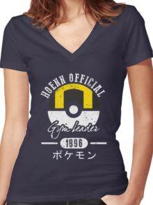 HOENN Gym Leader Women's Fitted V-Neck T-Shirt
