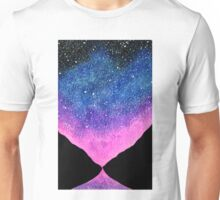 Purple Night Sky  Unisex T-Shirt