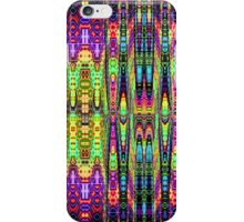 Neon Town reflections iPhone Case/Skin
