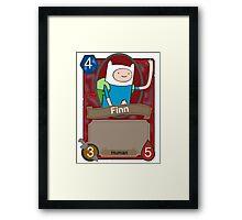 Adventure time Hearthstone Framed Print