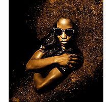 Cool African Queen  Photographic Print