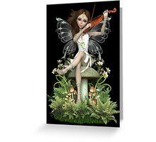Crystal Fairy ~ Summer Melody Greeting Card