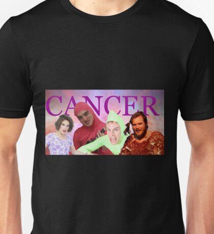 iDubbbz, Filthy Frank (Joji), MaxMoeFoe, Anything4Views CANCER Unisex T-Shirt