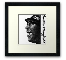 Curtis Mayfield Framed Print