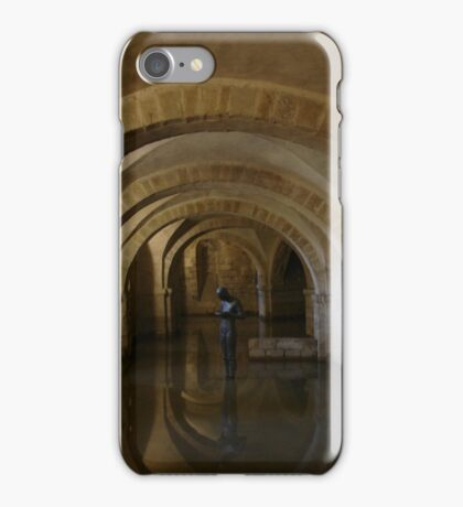Winchester Cathedral Catacombs iPhone Case/Skin
