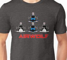More Airwolf Helicopter Unisex T-Shirt