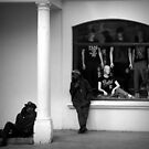 Hanging around with dummies by iamelmana