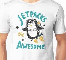 awesome penguin Unisex T-Shirt