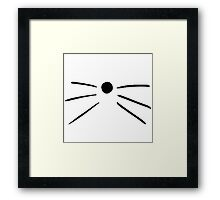 dan and phil cat whiskers  Framed Print