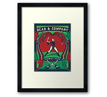 DEAD AND COMPANY SUMMER TOUR 2017 FENWAY PARK-BOSTON,MA Framed Print