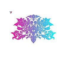 Colorful Ambrosia Baroque T-Shirt by Cyrca Originals  Photographic Print