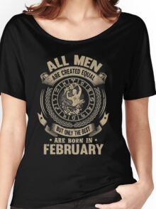 Gift for birthday in February christmas shirt Women's Relaxed Fit T-Shirt