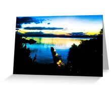 Secret Harbour Jetty Greeting Card