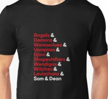 Supernatural Ampersand Unisex T-Shirt