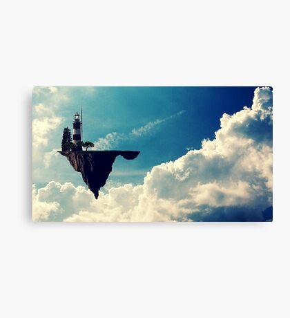 Gorrilaz Cloud Canvas Print