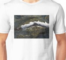 Nature Artistic Hand - Sculpted Ice and Sun Sparkles Unisex T-Shirt