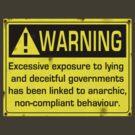 Warning by blackiguana